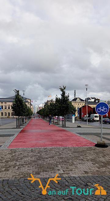 Finnische Stadt Oulu