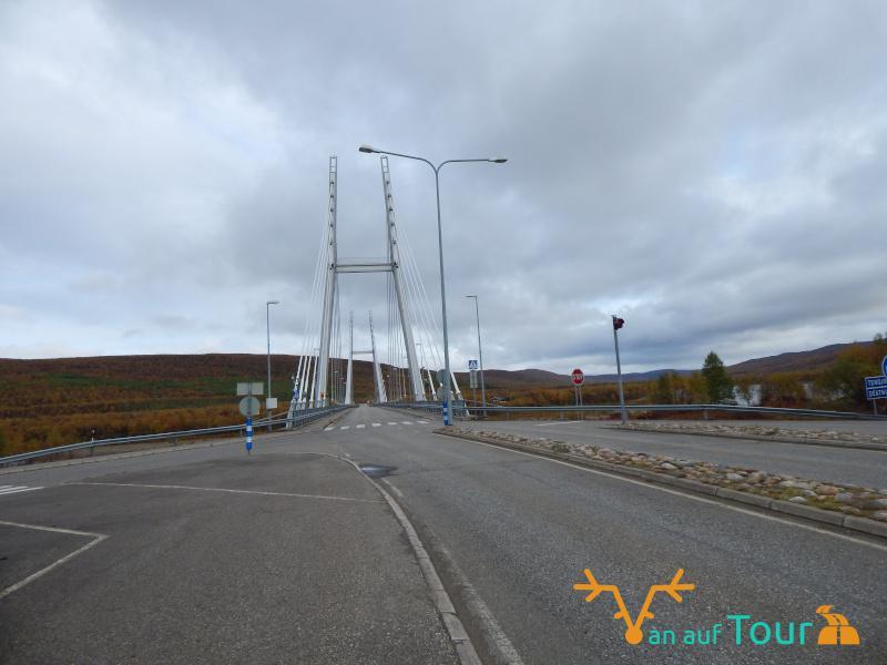 Grenze Norwegen-Utsjoki