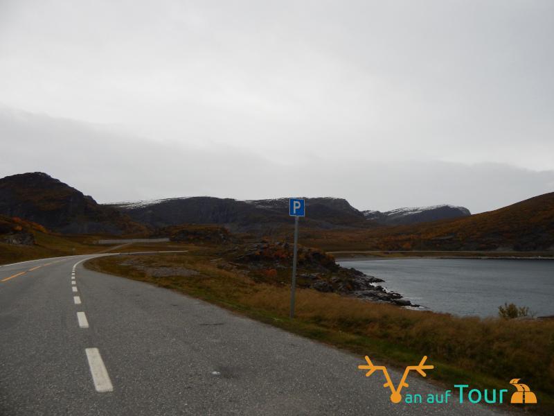 Straße ans Nordkap
