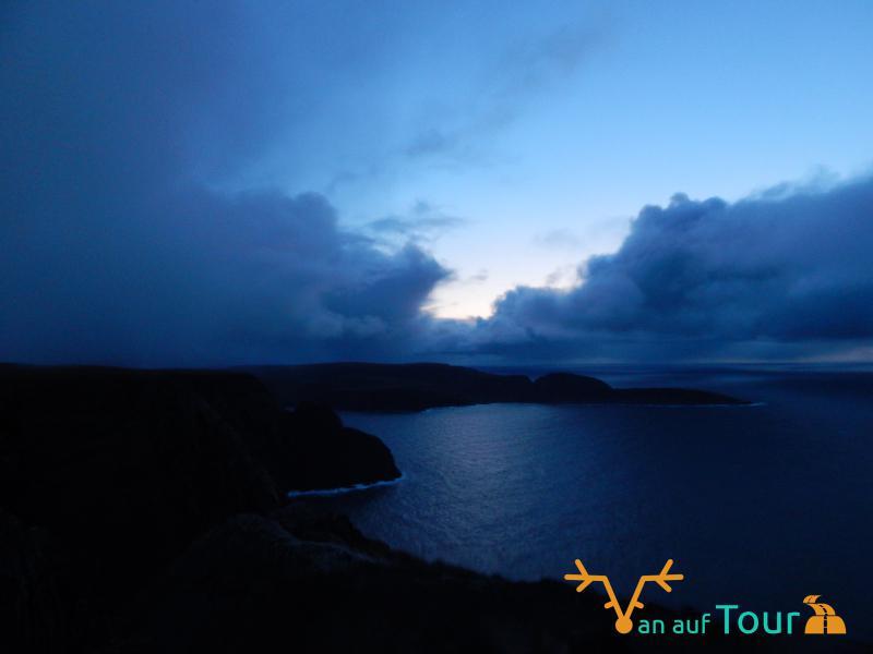Nordkap bei Nacht