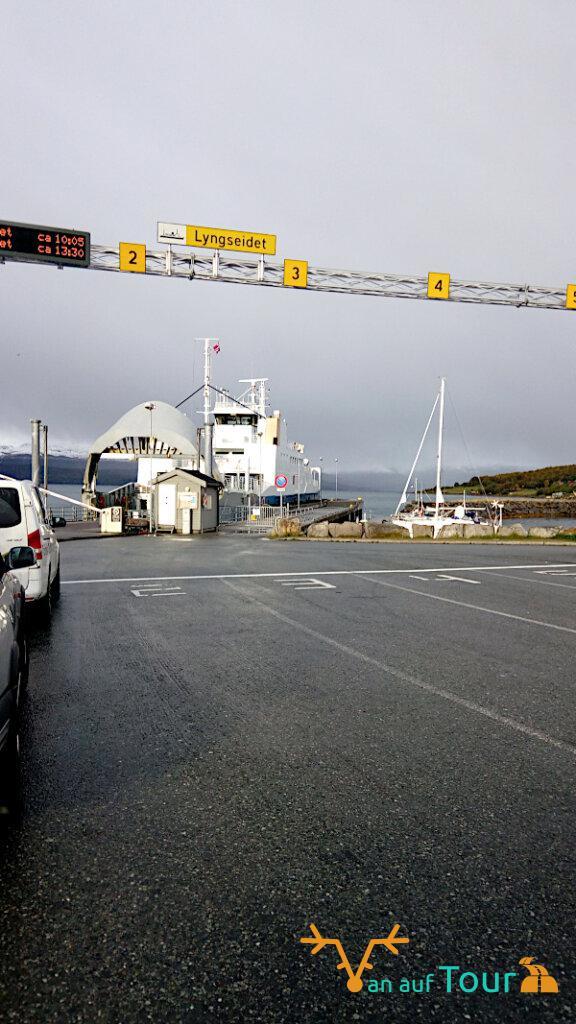 Fähre nach Tromsö
