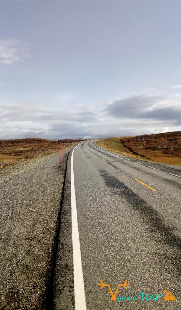 Straße Lappland