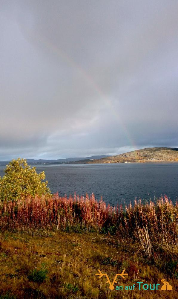 Regenbogen Lappland