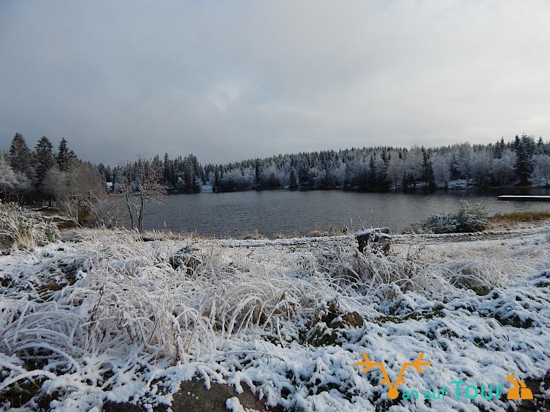 Schnee Norwegen