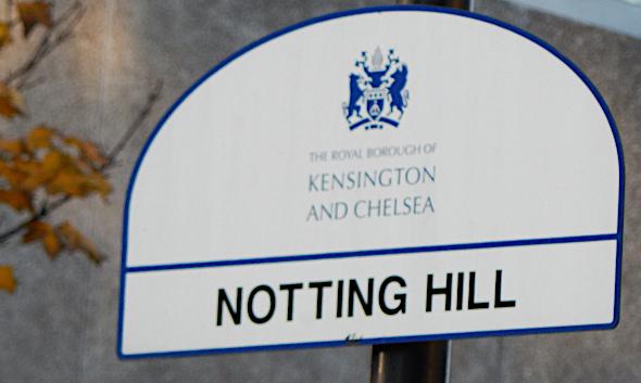 Notting Hill Vereinigtes Königreich