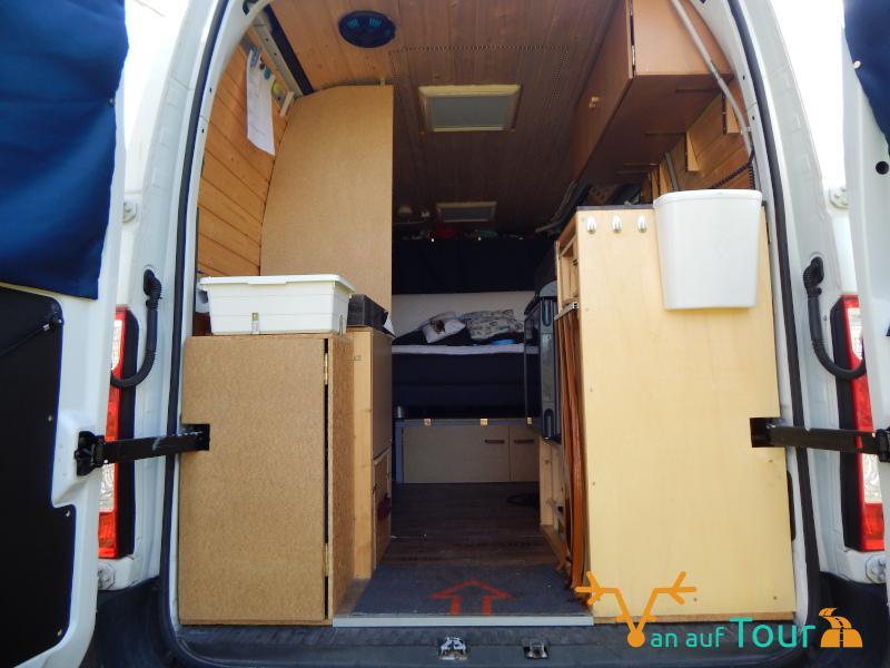 DIY Campervan Roomtour